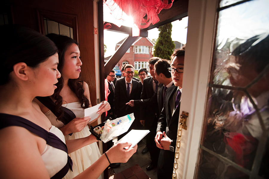Documentary photography at a Chinese wedding
