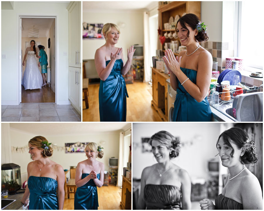 River Cottage Wedding Photography bridesmaids