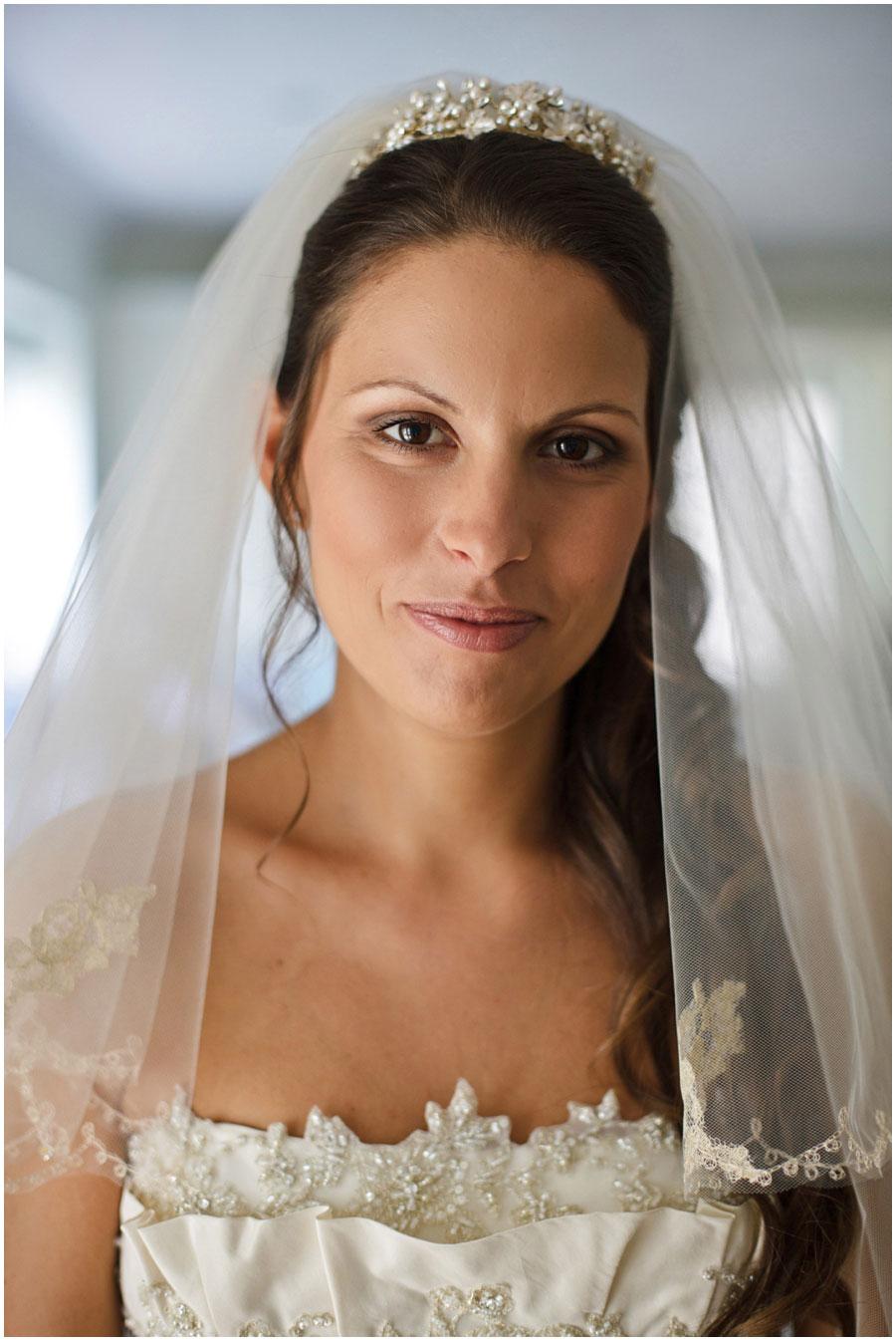 River Cottage Wedding Photography bride portrait