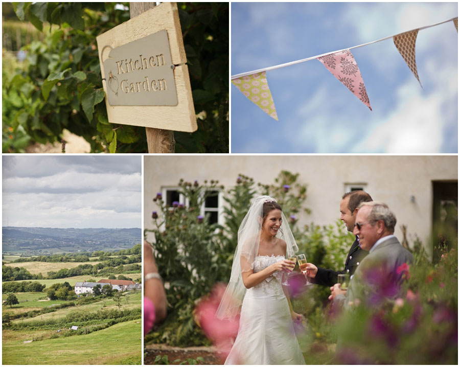 River Cottage Wedding Photography kitchen garden