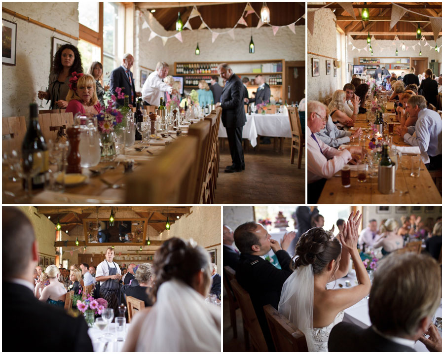 River Cottage Wedding Photography tractor