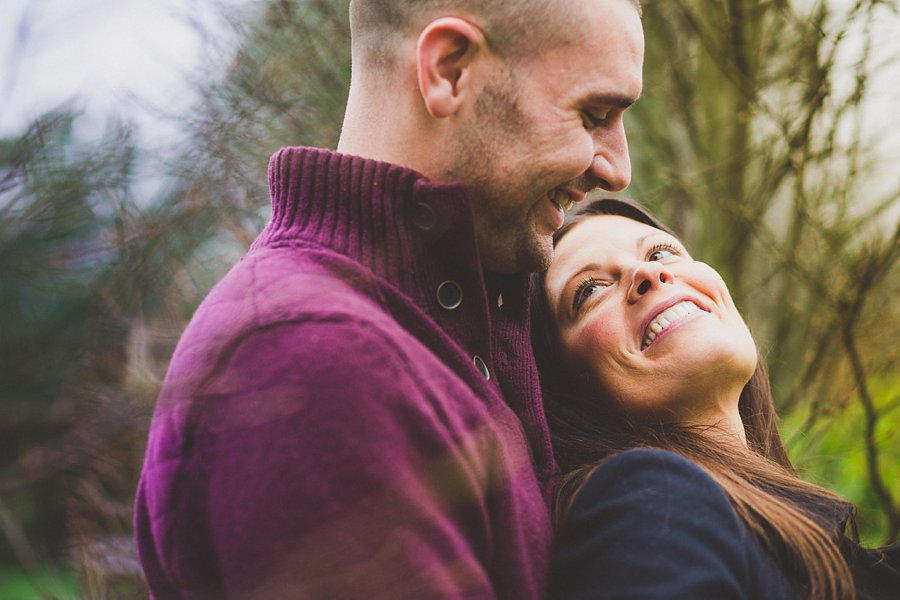 engagement shoot in the cotswolds