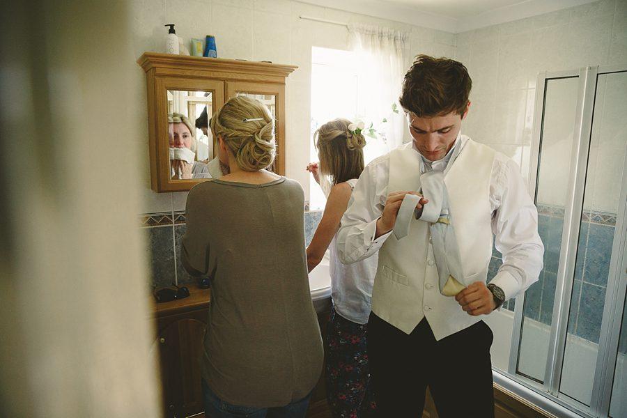 wedding shoes at barnsley house wedding by sam gibson