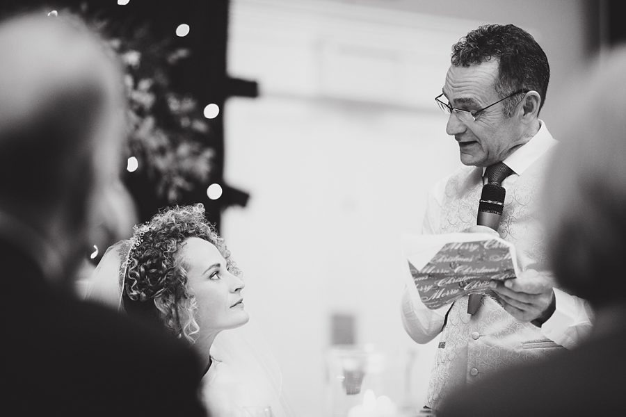 father of the bride gives his speech at a wedding in norwich by sam gibson