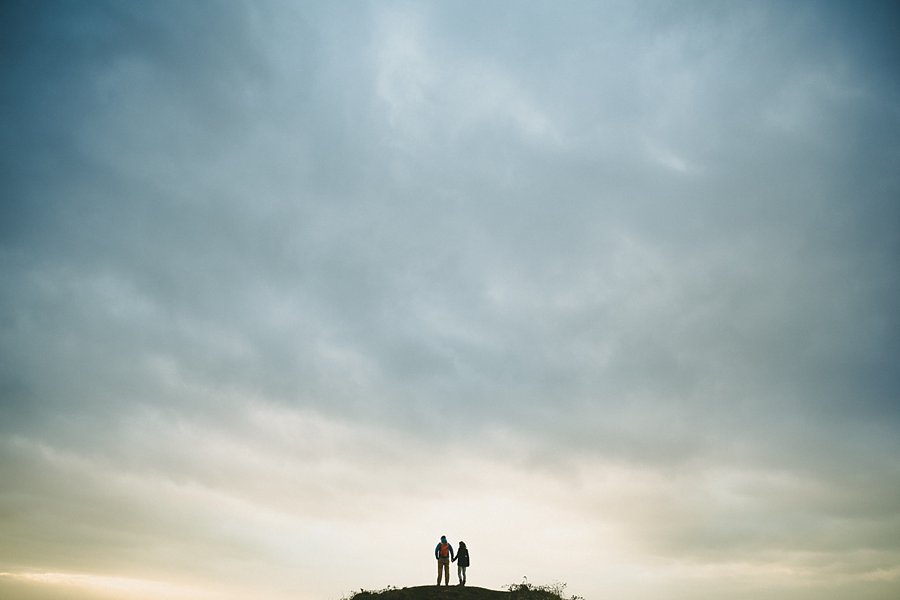 An anniversary photo shoot in sand bay, by bristol wedding photographer sam gibson