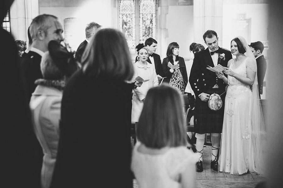 church wedding in henleaze, bristol