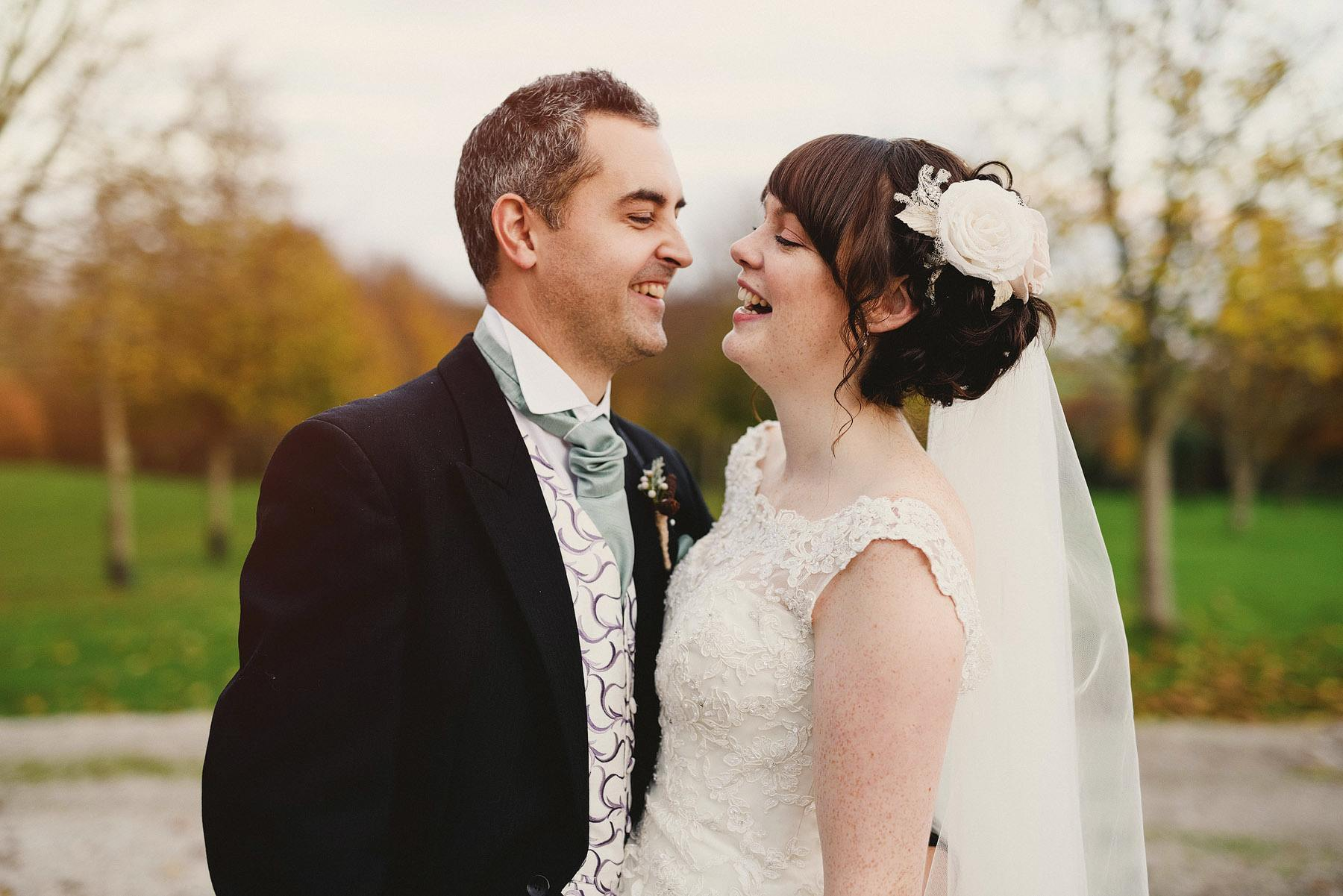 bride and groom portraits at kingston estate