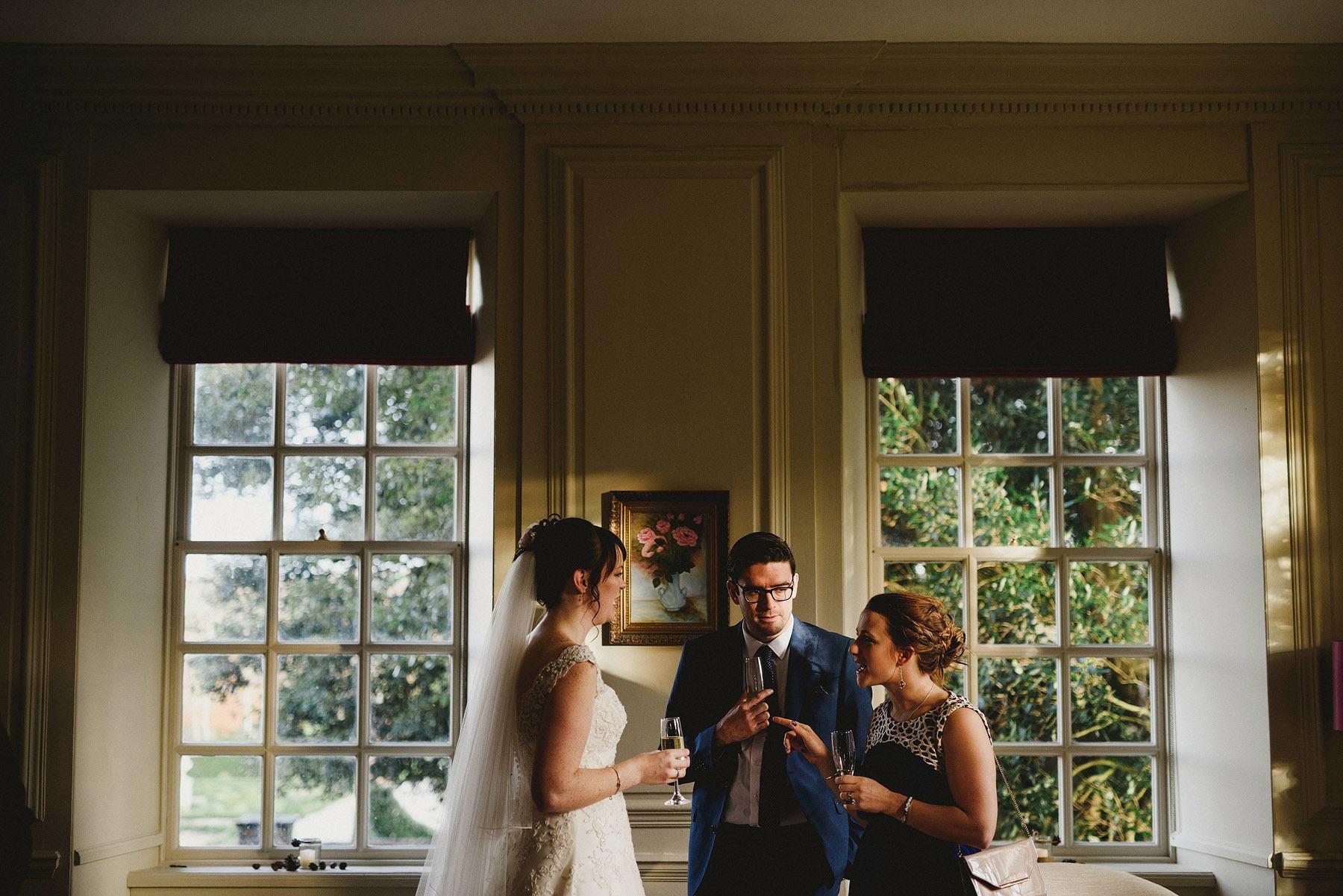 wedding reception at the kingston estate