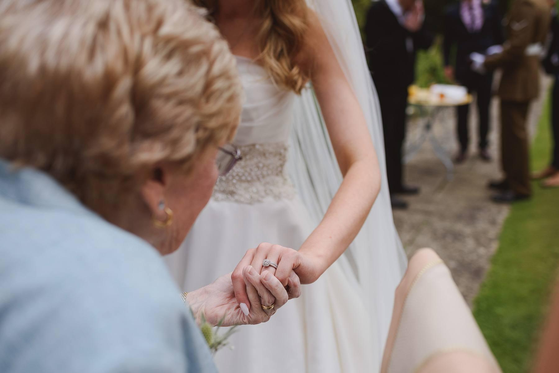 kilver court secret garden wedding