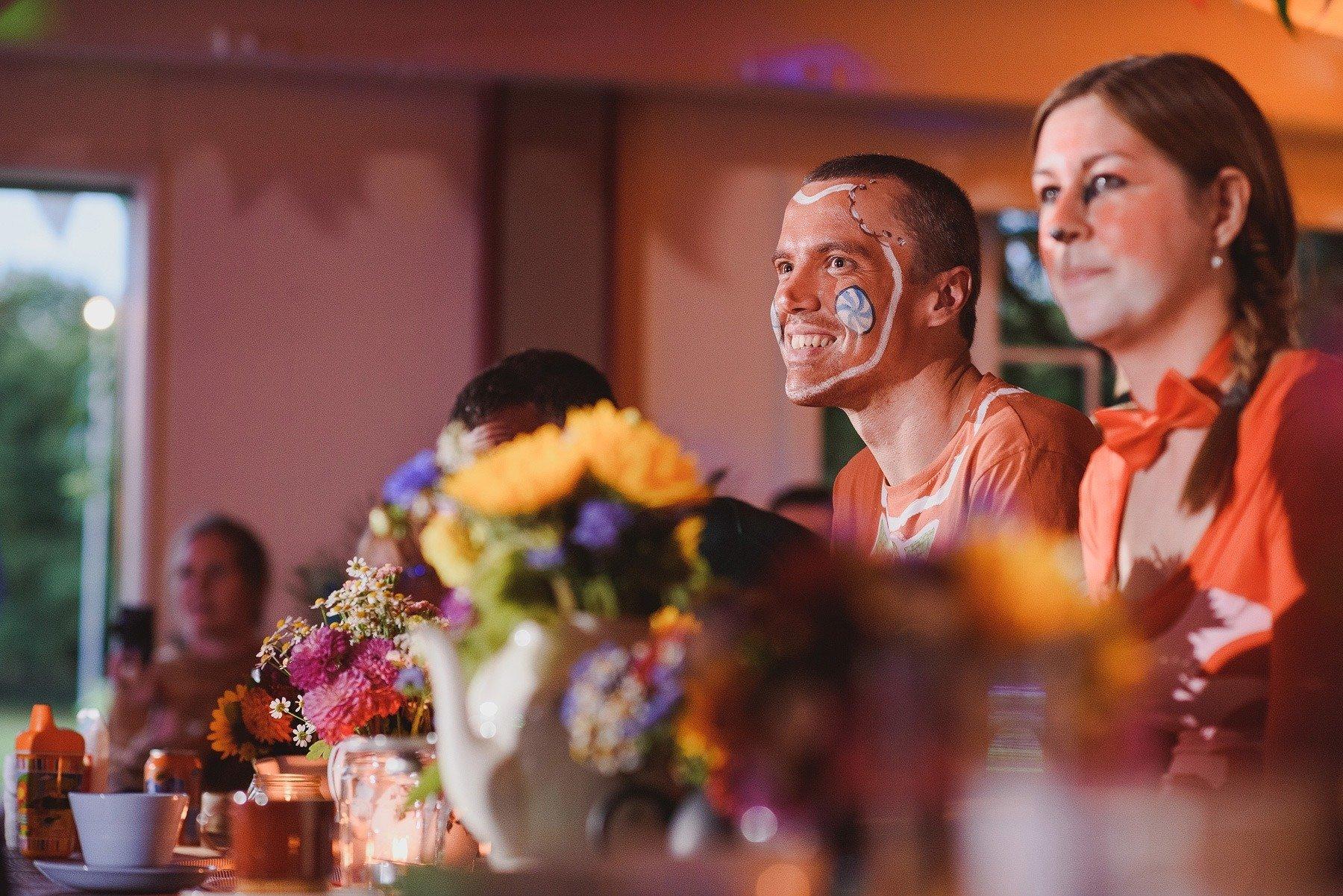 fancy dress wedding guests