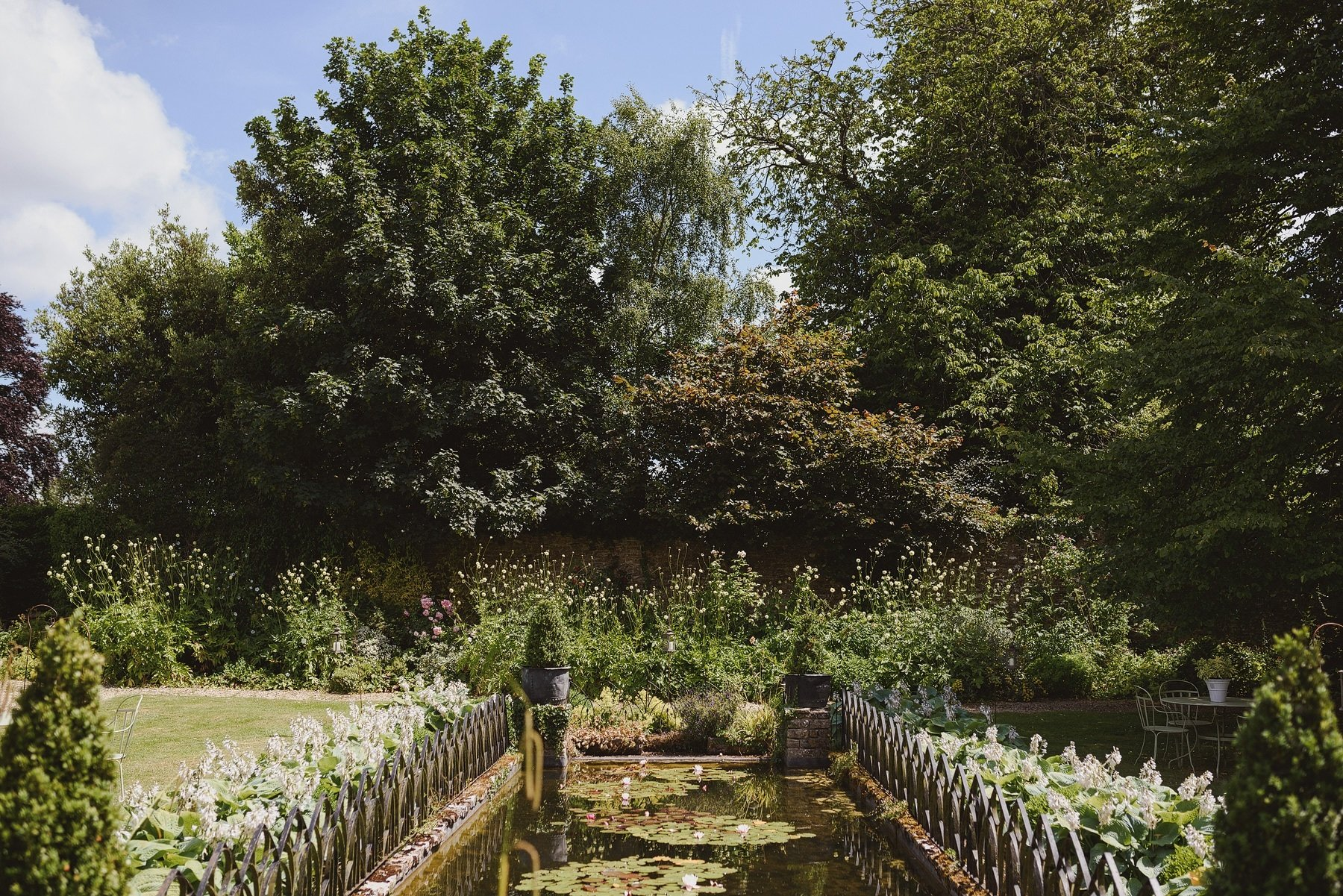 gardens at the rectory in crudwell