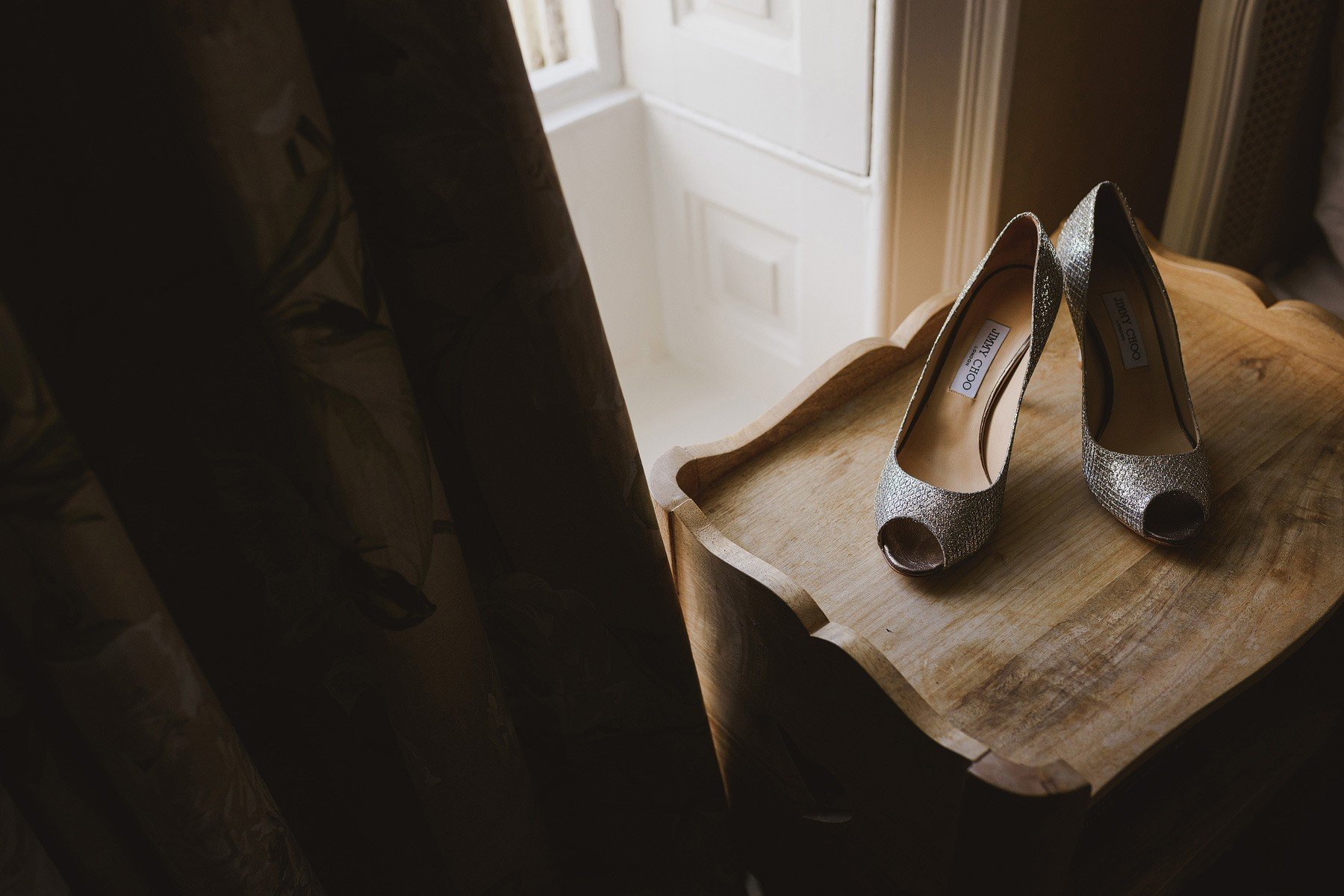 jimmy choos at the rectory in crudwell