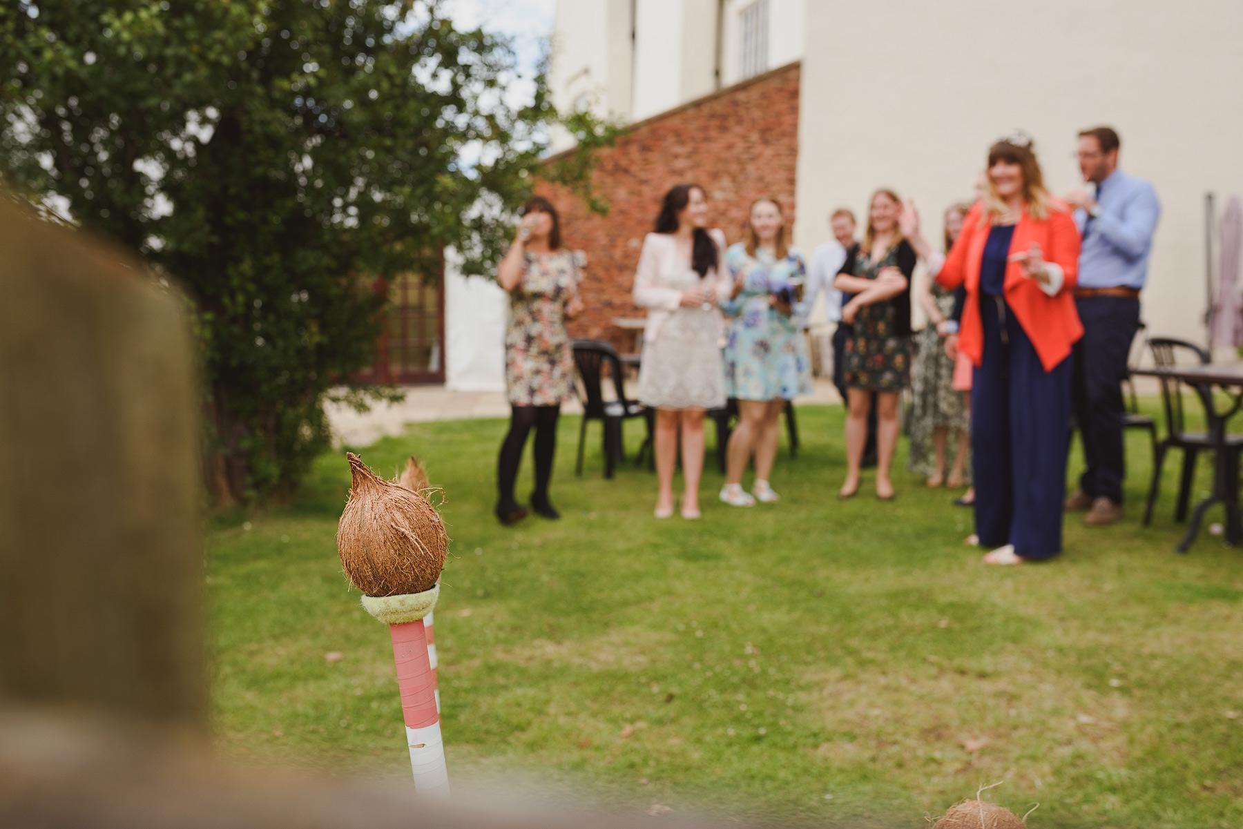 coconut shy at weddings