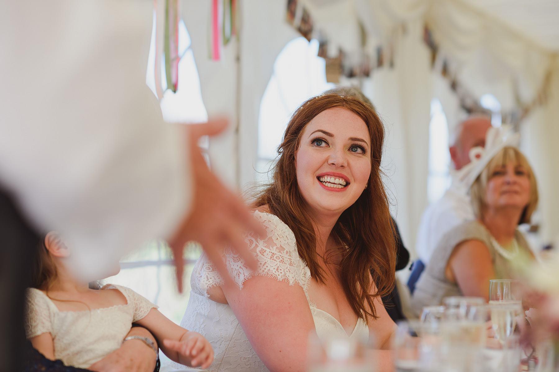 speeches at huntstile farm wedding