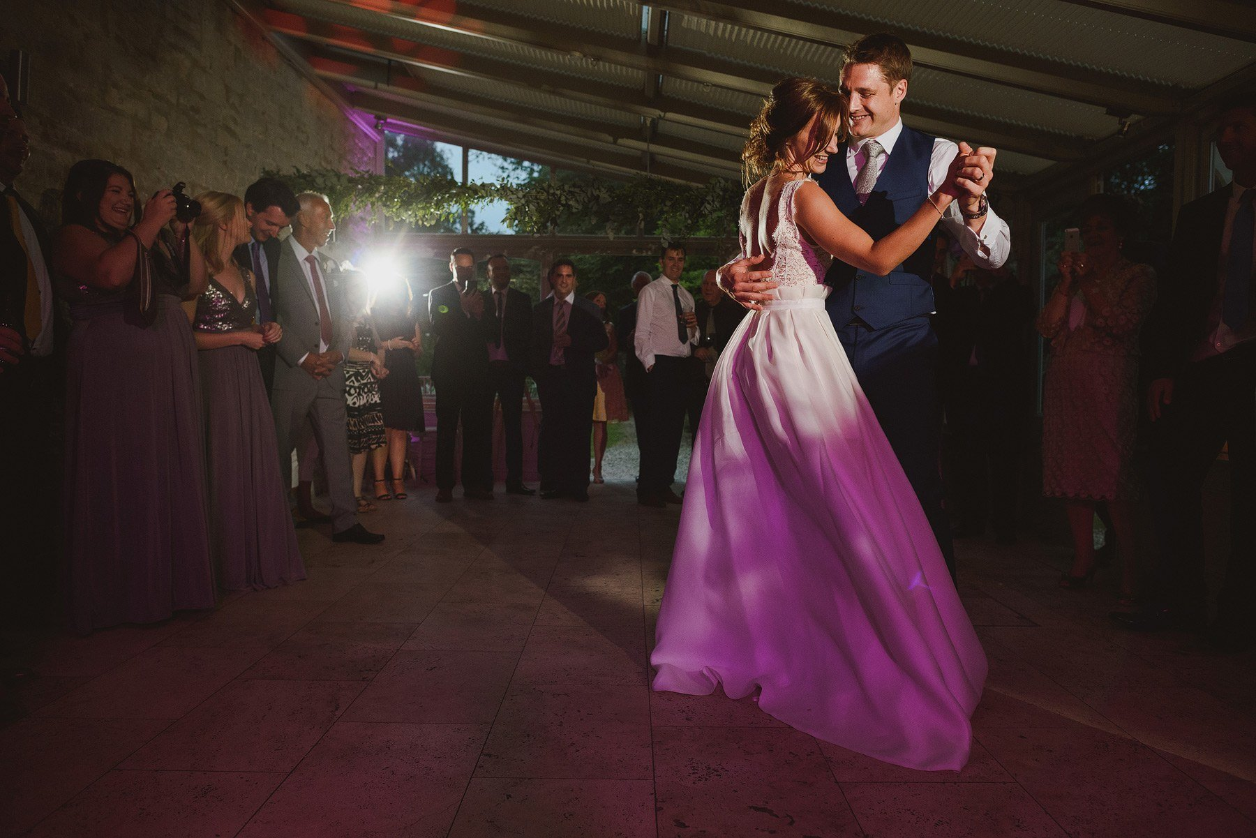 first dance photo at the rectory in crudwell