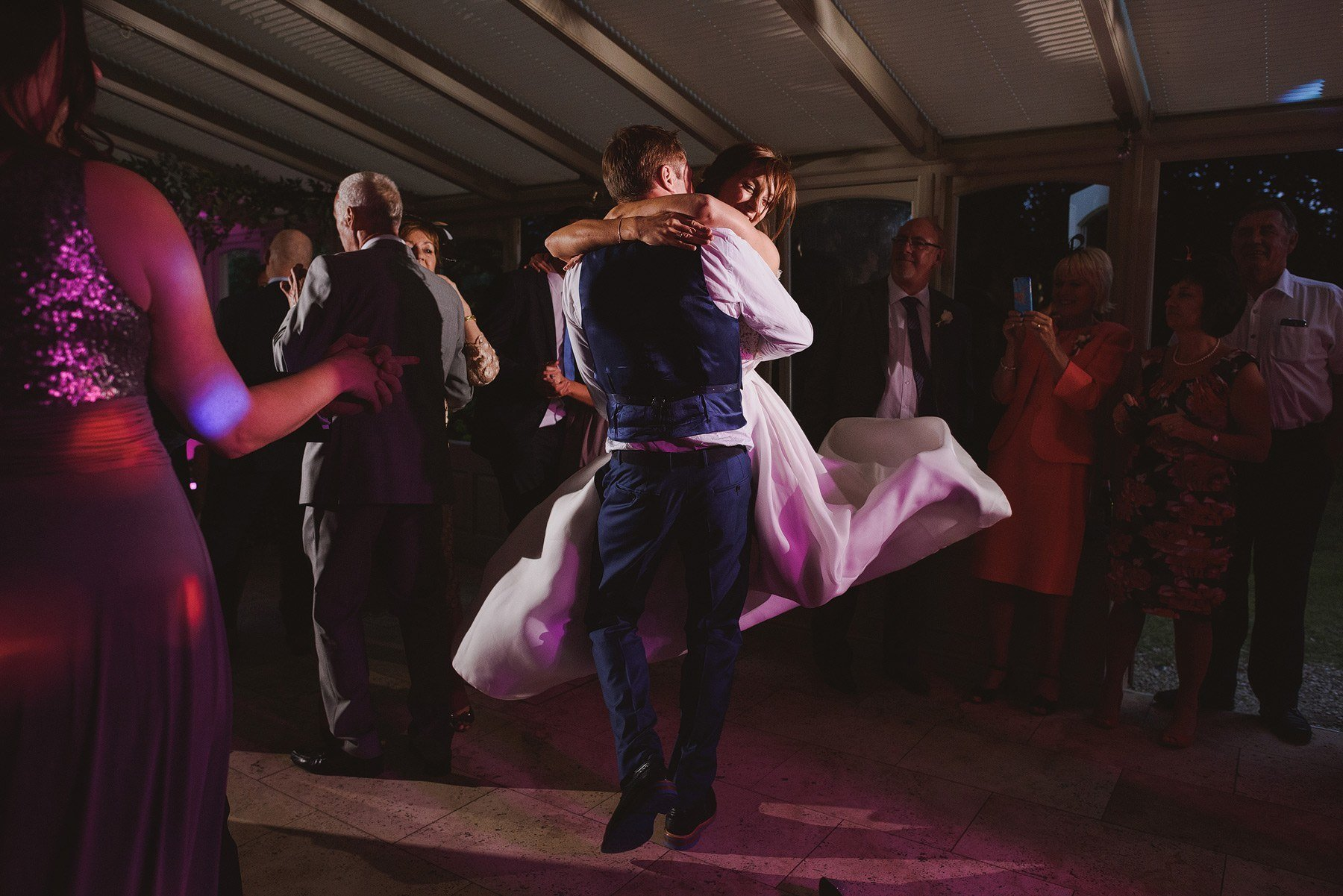first dance photos at the rectory