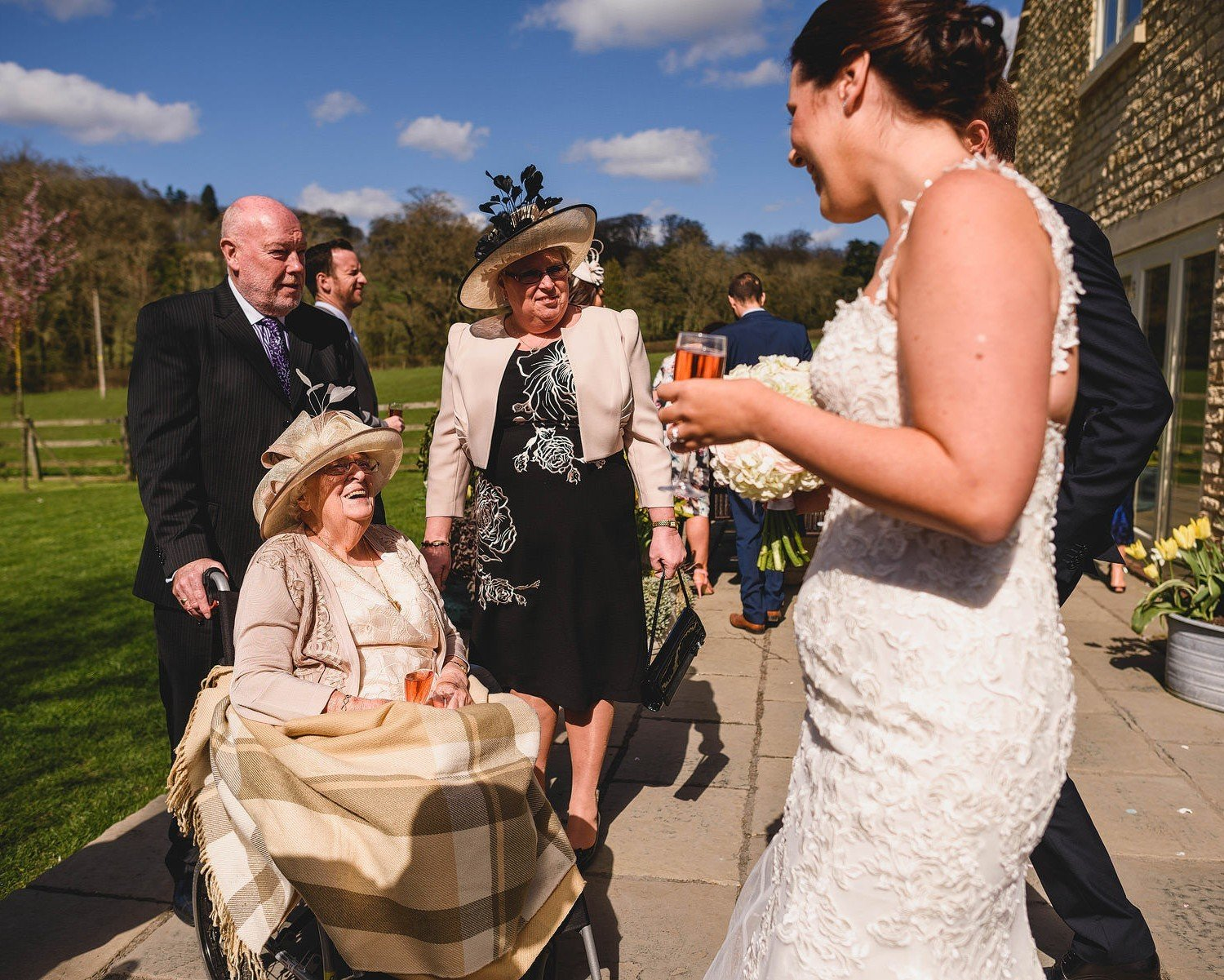 stow on the wold wedding