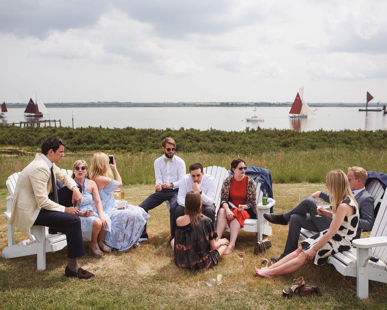 wedding photos osea island