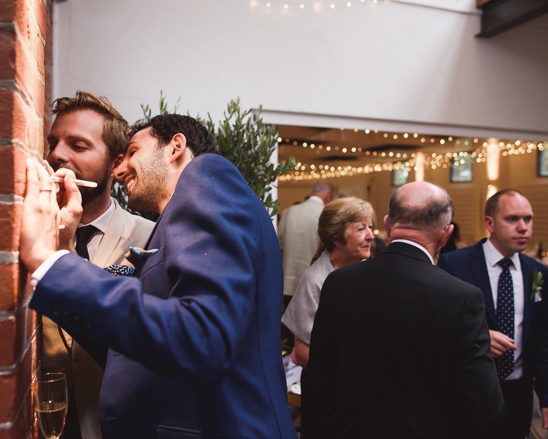 essex wedding osea island