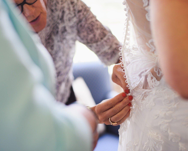 wedding at harptree court