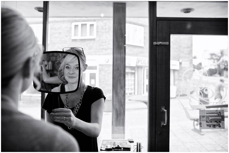 River Cottage Wedding Photography bridesmaid preparation