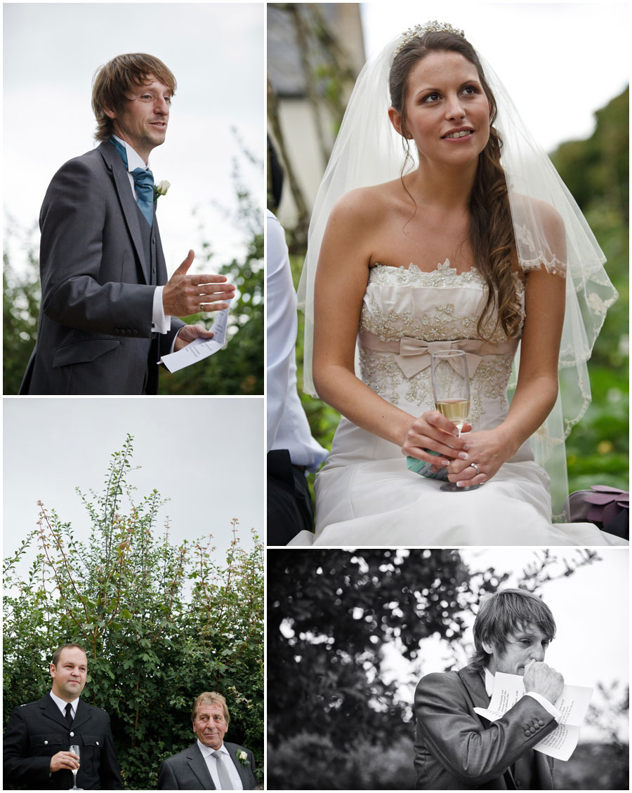 River Cottage Wedding Photography best man