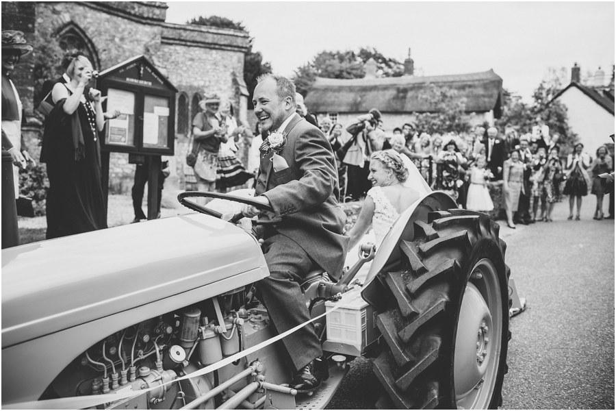hawkchurch wedding photographs