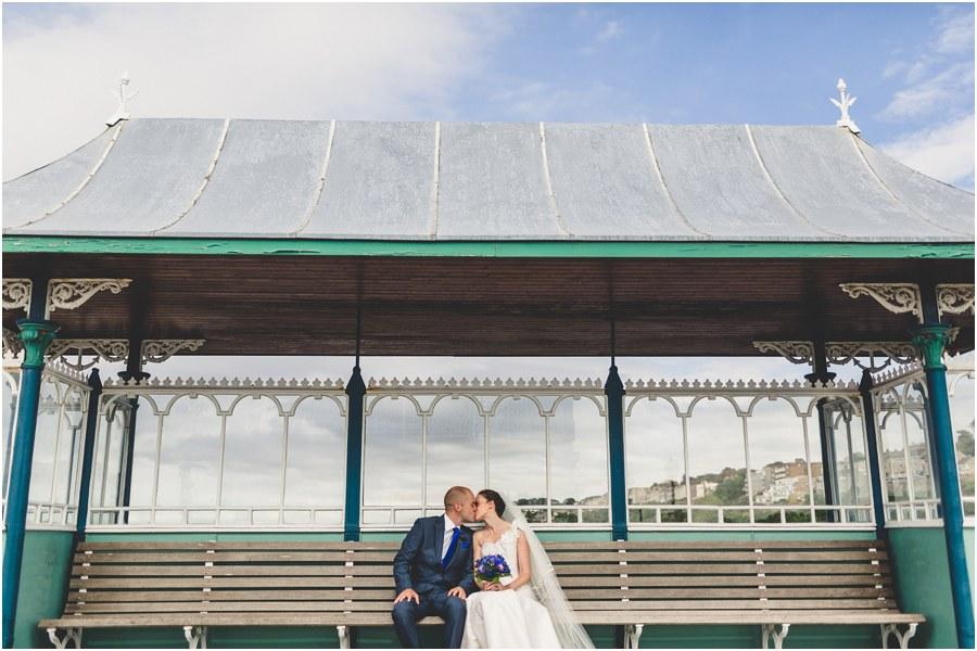 clevedon pier wedding photography