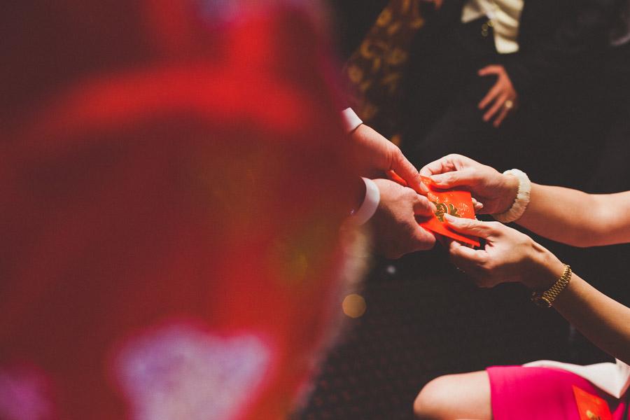 red envelope tea ceremony