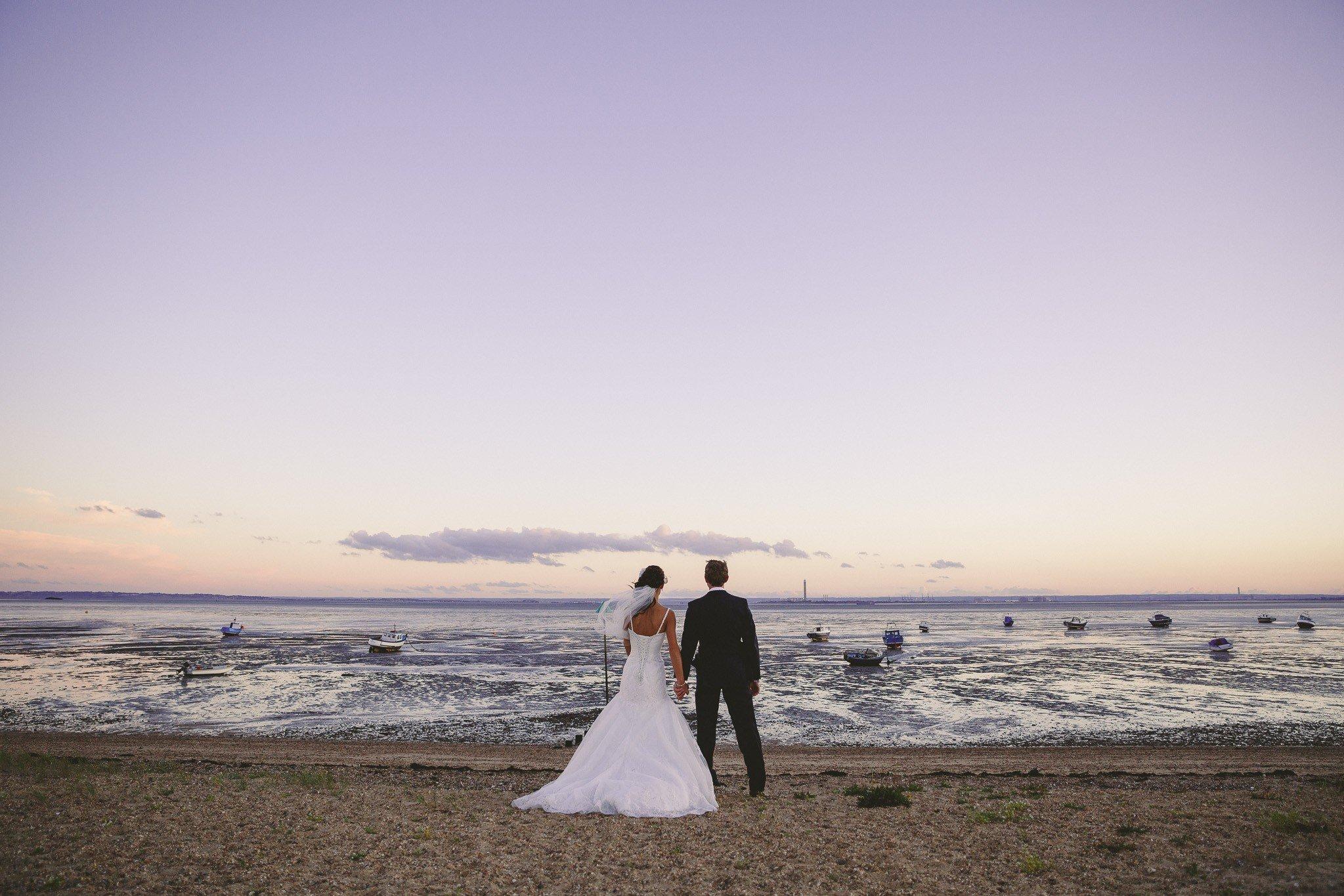 Roslin beach wedding photos