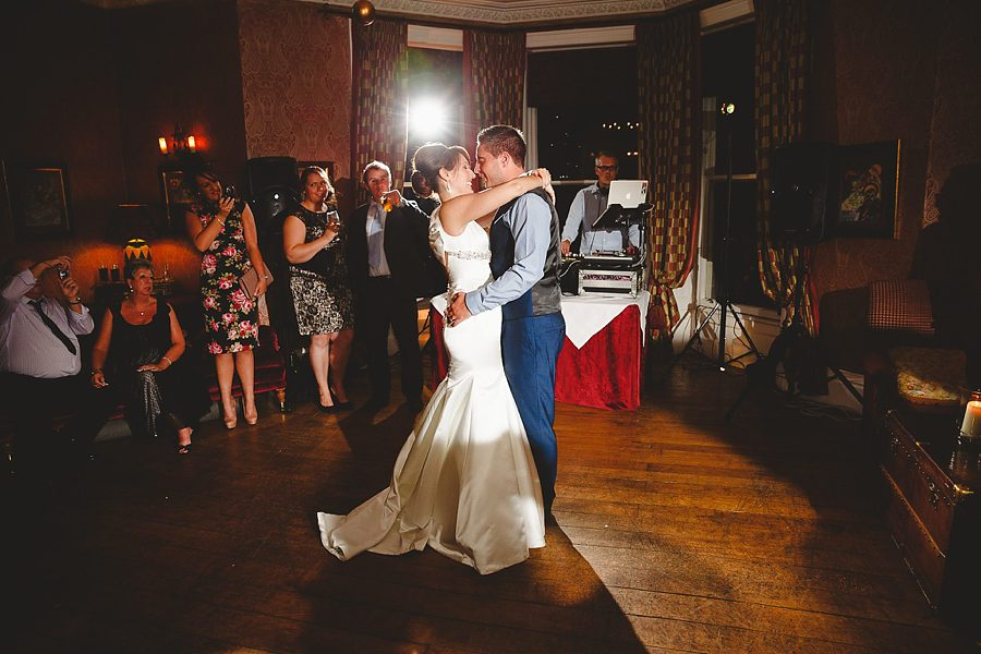 first dance at charlton house hotel wedding