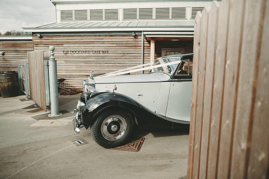rolls royce wedding car in bristol