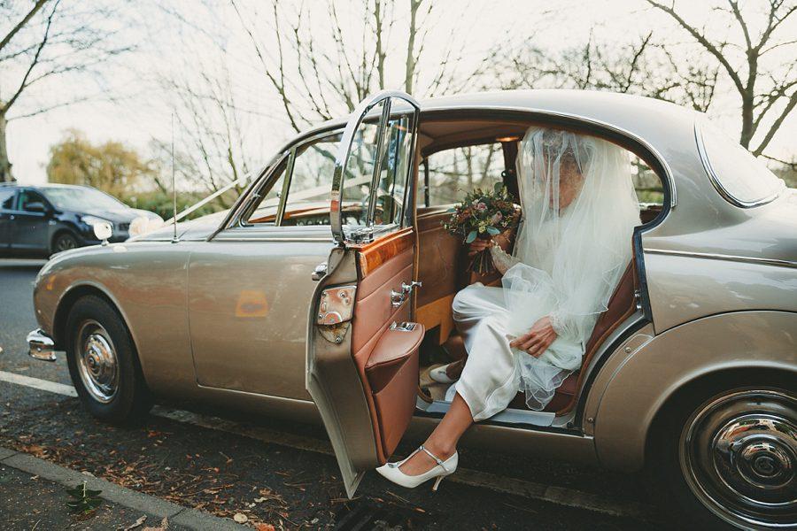 daimler wedding car in norwich