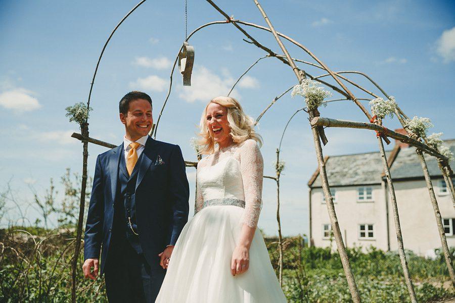 wedding at river cottage