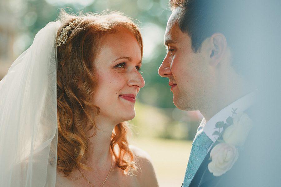 bride and groom in norfolk
