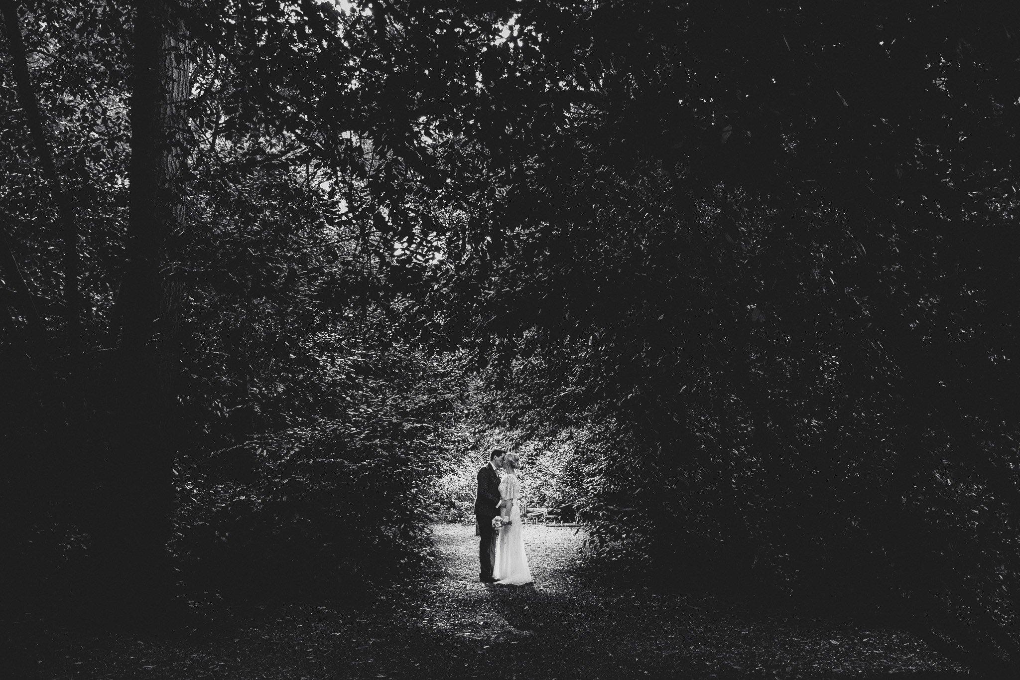 a summer wedding at Larmer Tree Gardens