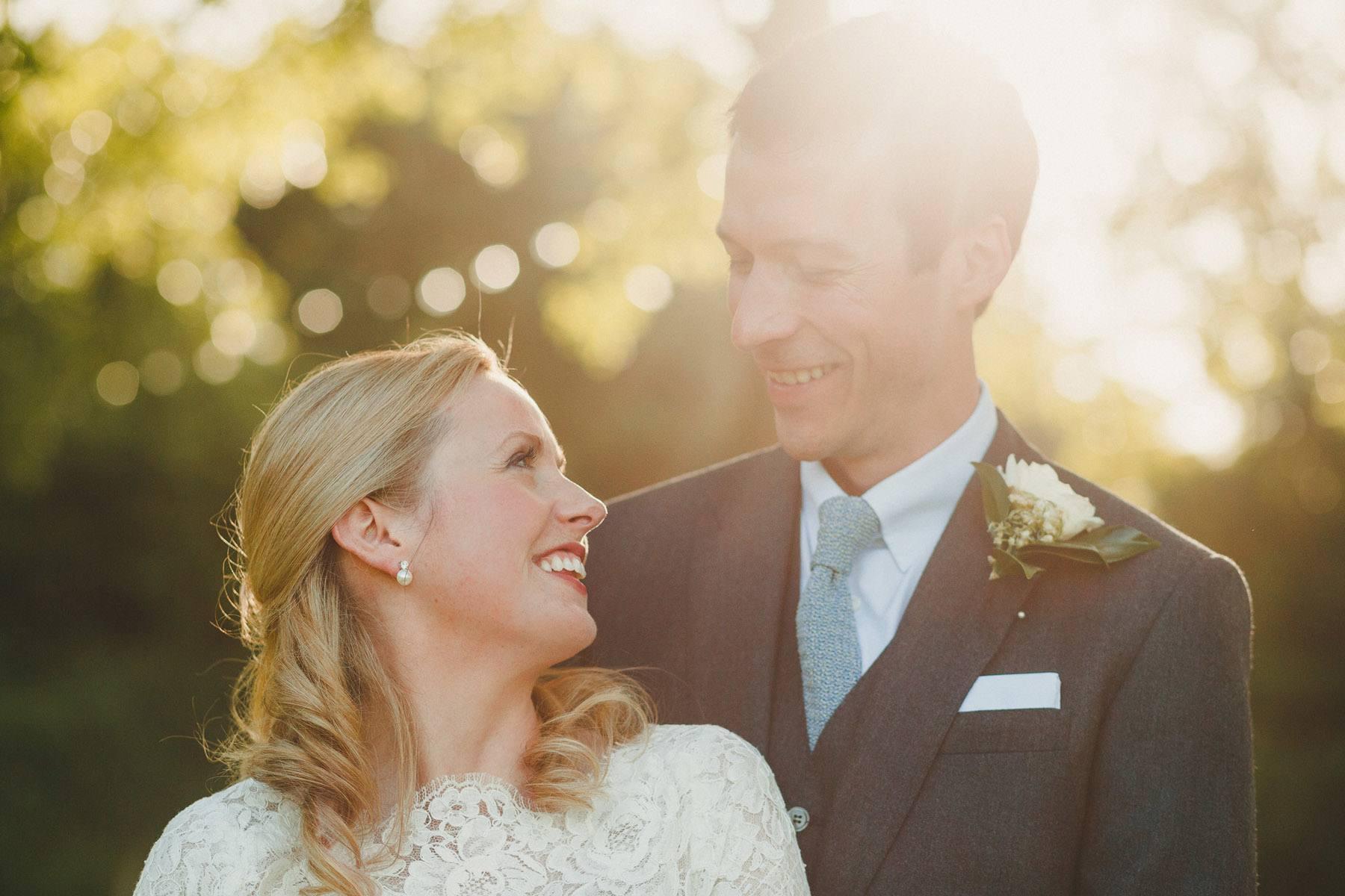 a wedding at gurrow point in devon