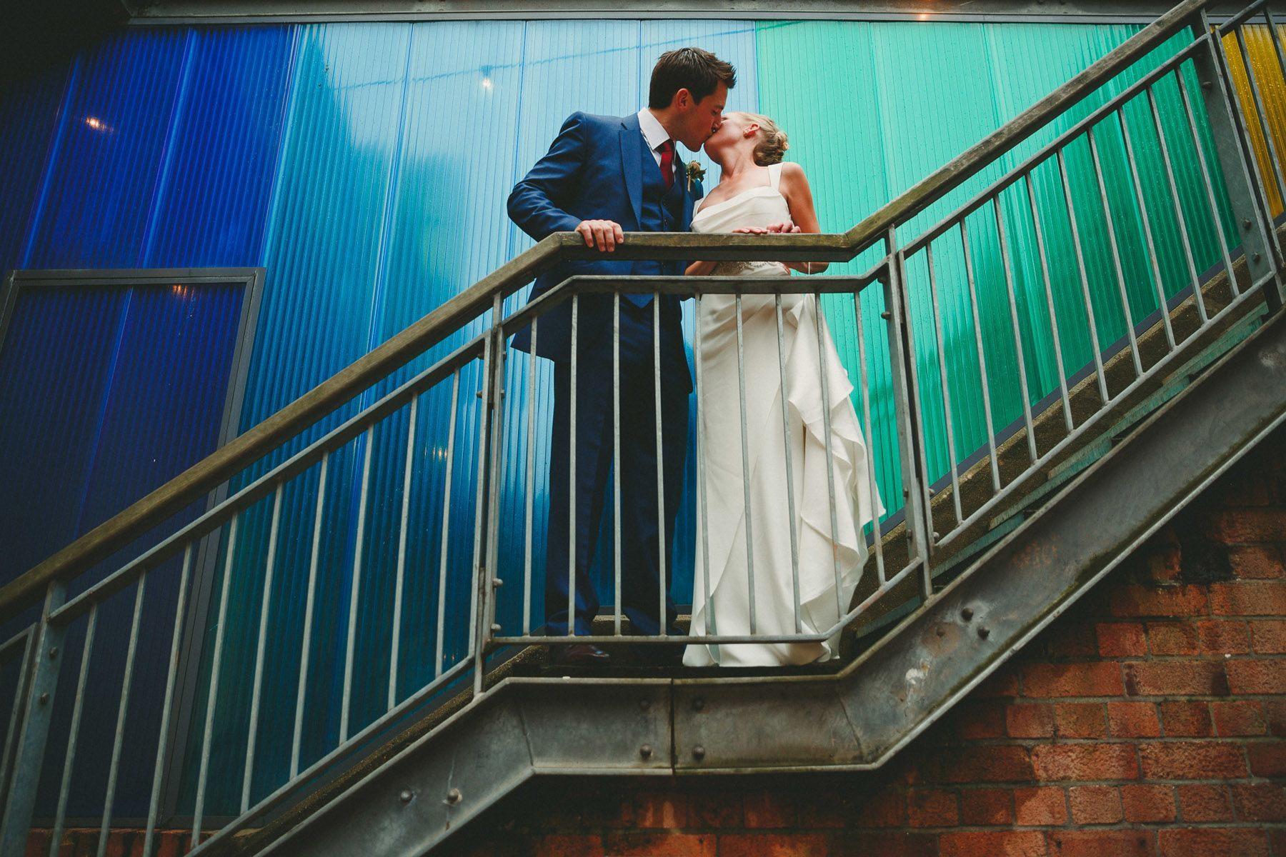 wedding photos at paintworks in bristol