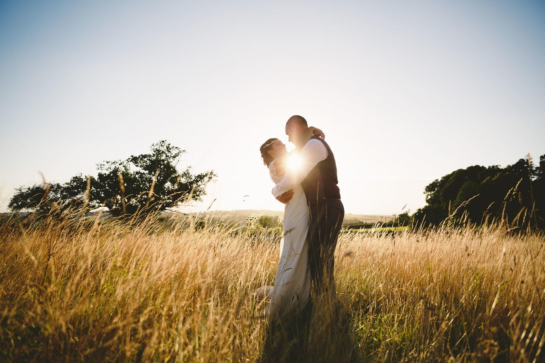 wedding photo from hyde barn in the cotswolds