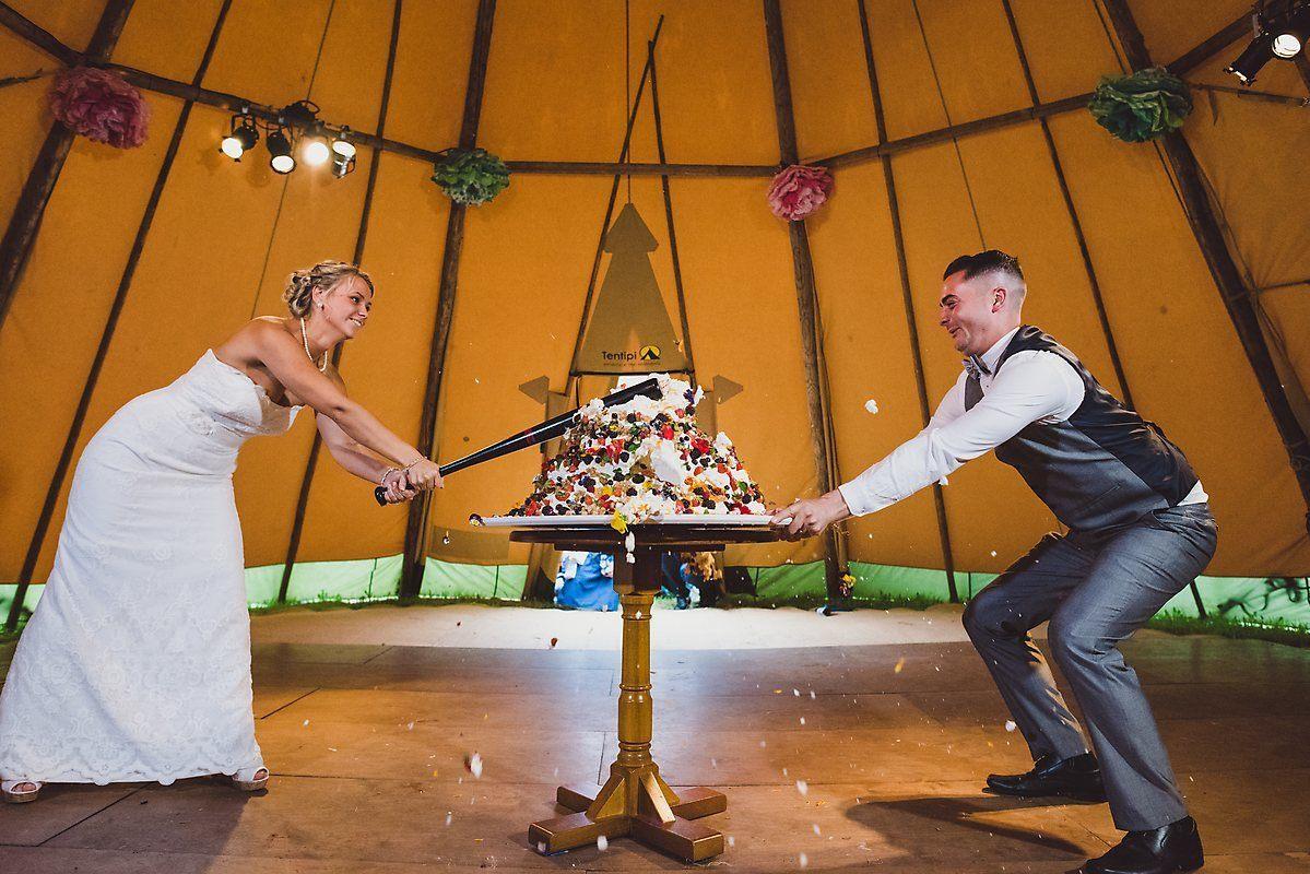 cake smash wedding