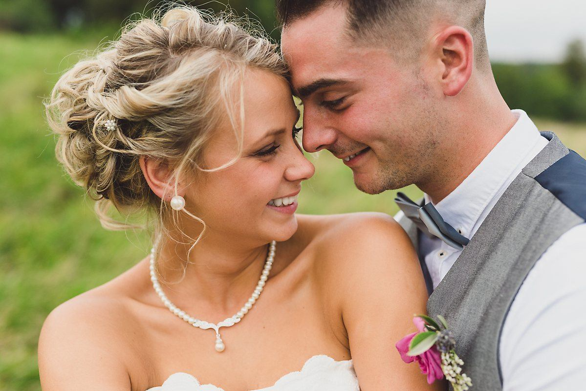 tipi wedding portrait