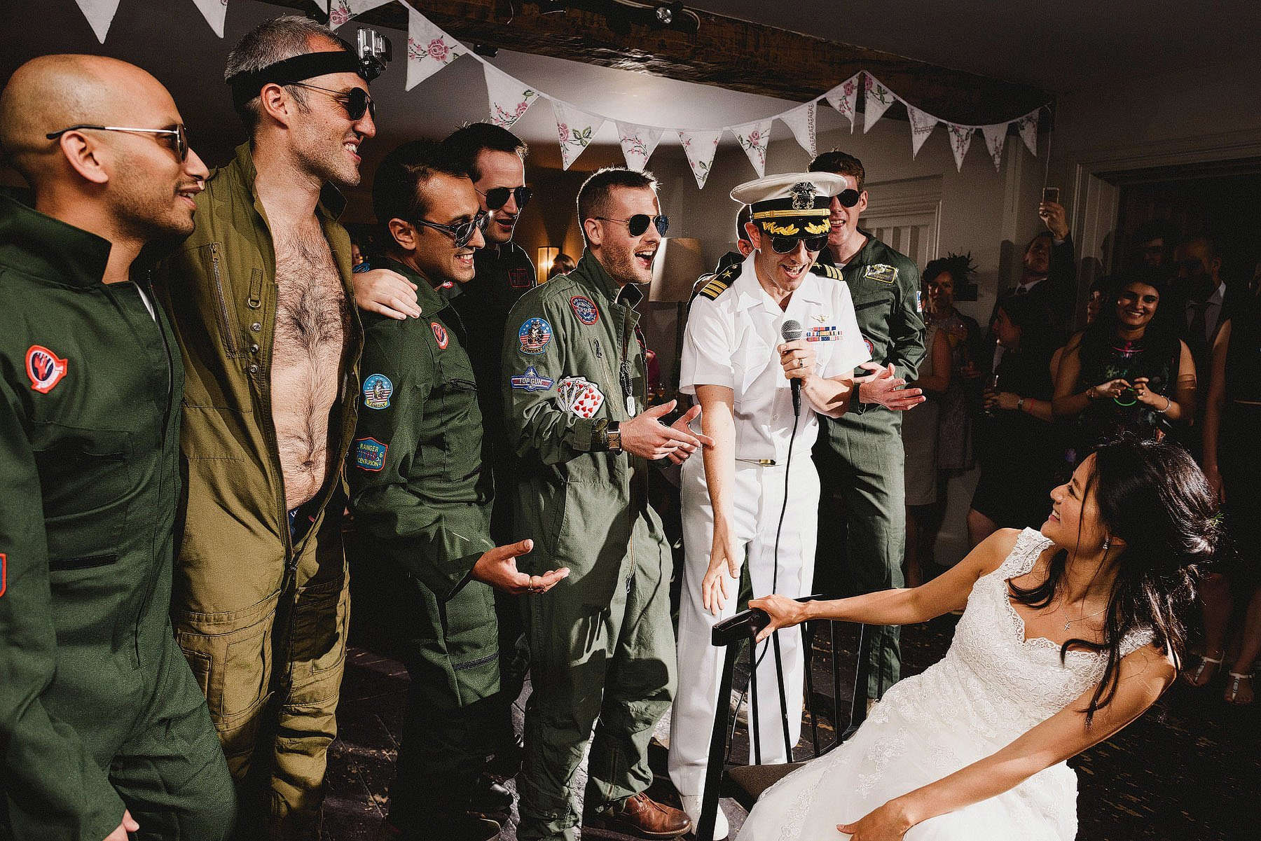 top gun wedding