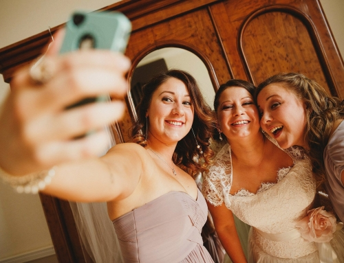 Selfies at Weddings