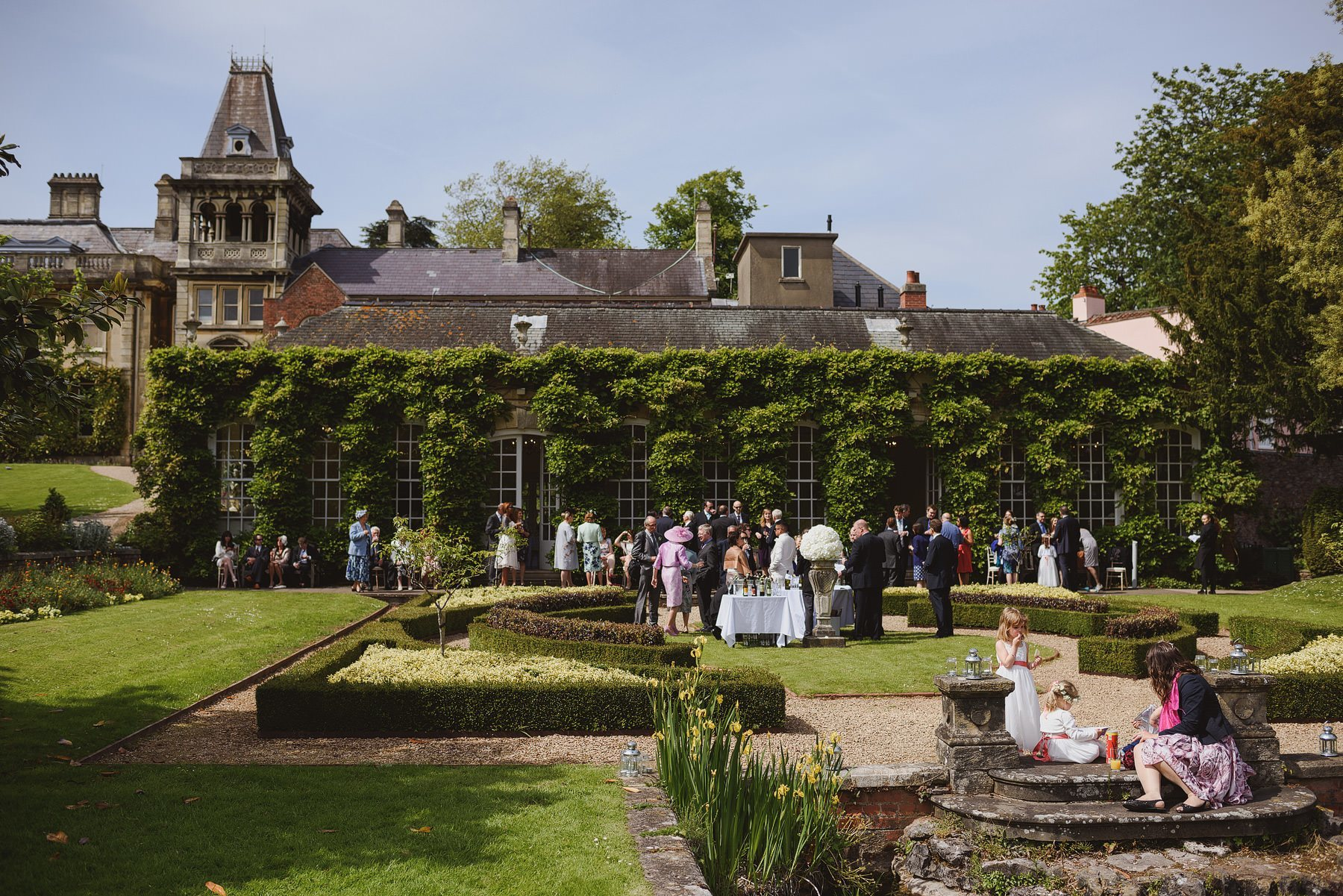 bristol wedding at goldney hall