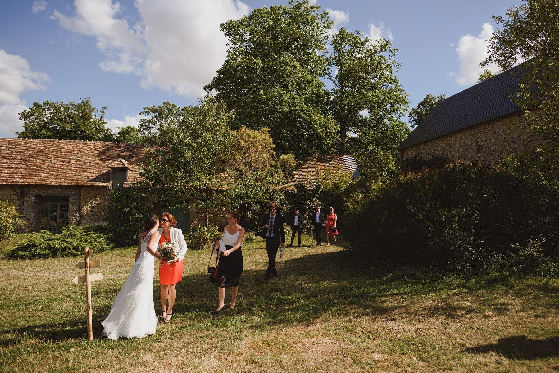 Manoir des Prévanches destination wedding