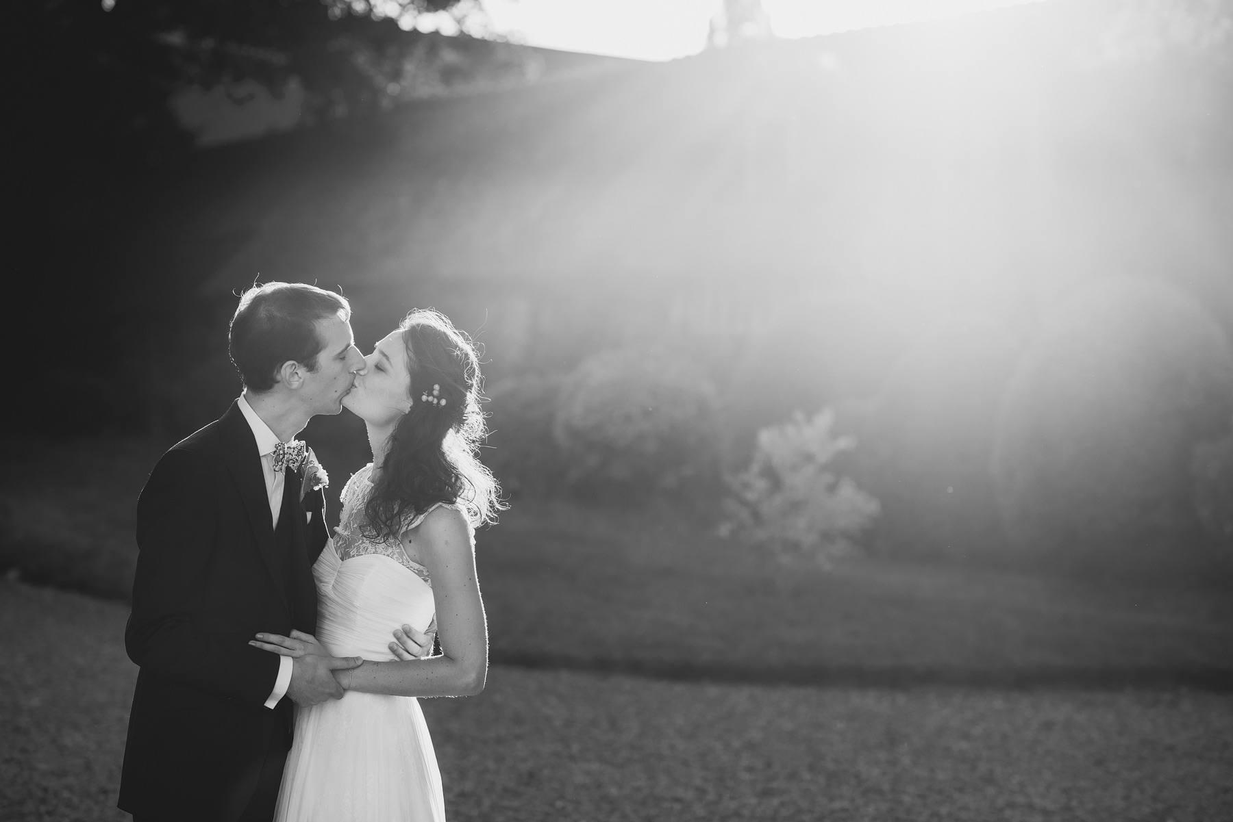 Manoir des Prévanches bride and groom portraits