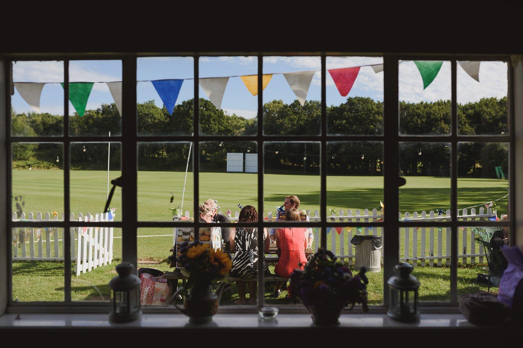 streatham and marlborough cricket club fancy dress wedding photo