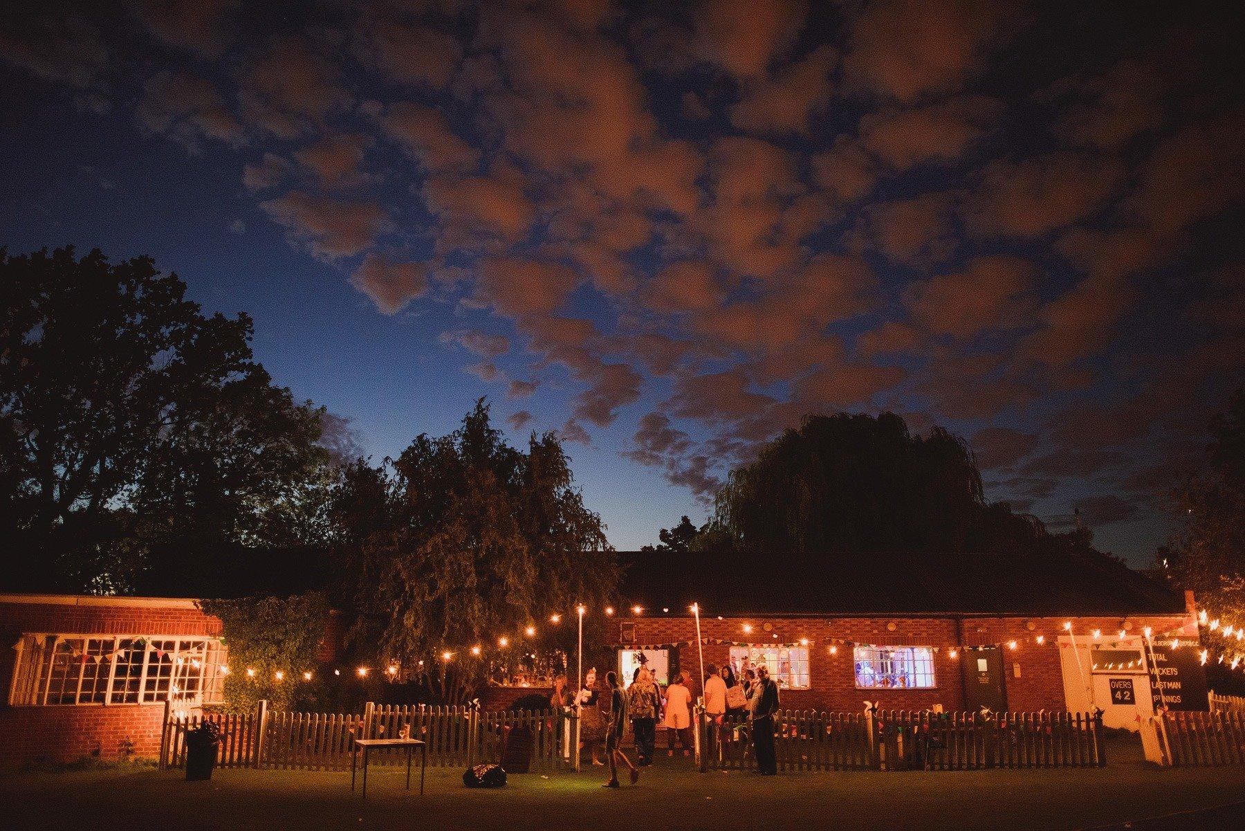a wedding at streatham and marlborough cricket club