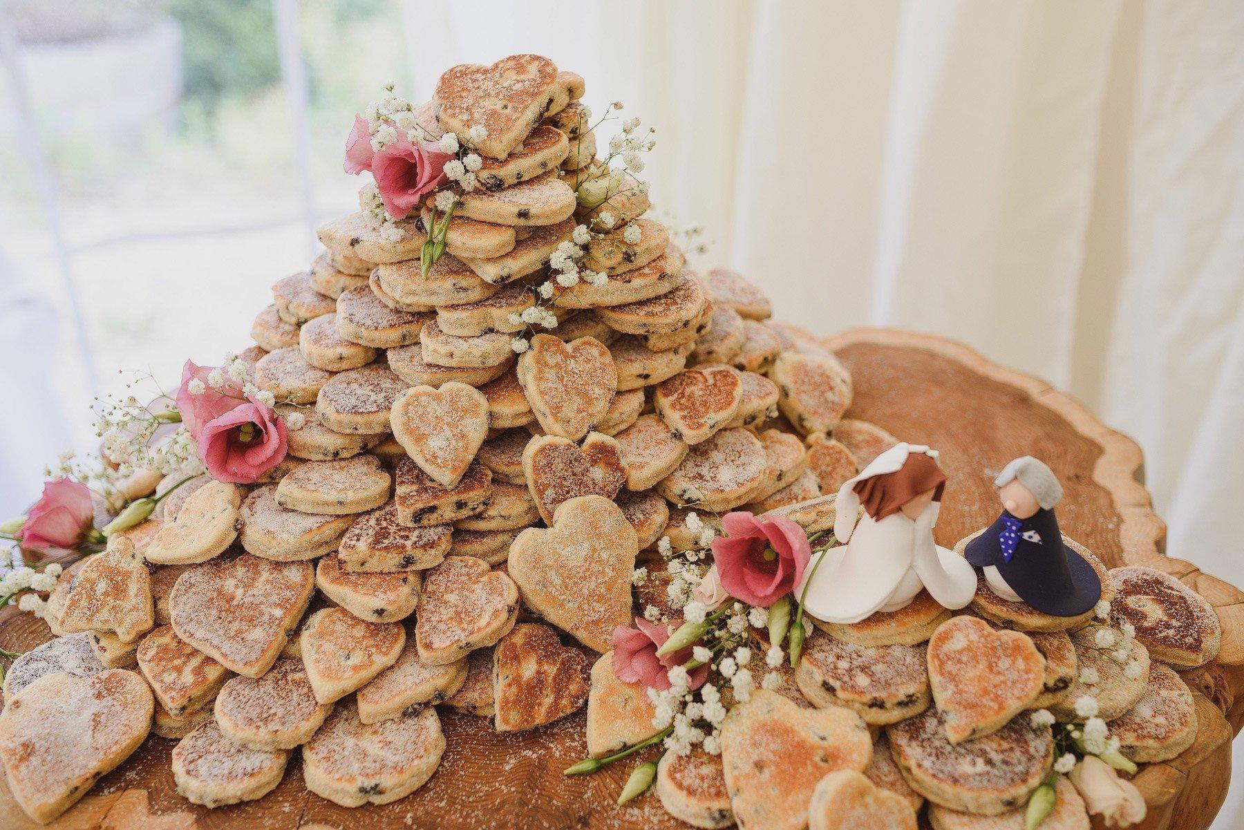 welsh cake wedding cake