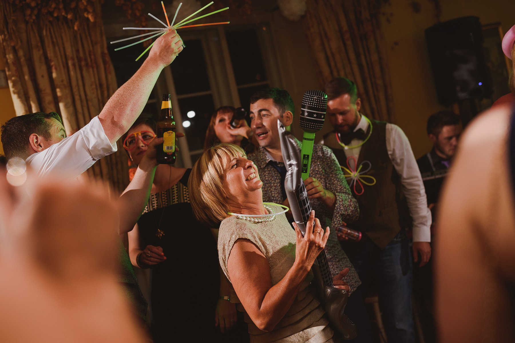 inflatable guitars at weddings